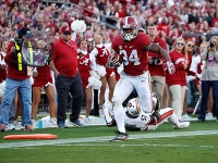 No. 1 Crimson Tide completes perfect regular season with win over No. 13 Auburn (via Crimson Magazine)