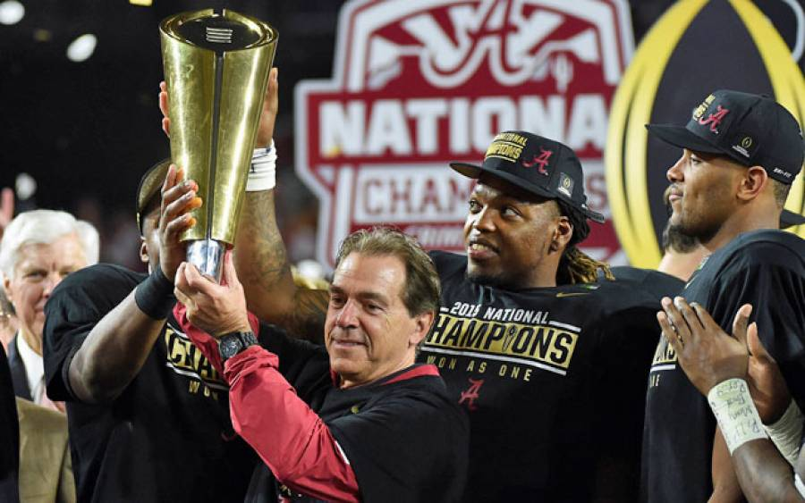 Nick Saban, the gift that keeps on giving for Crimson Tide football fans (via Crimson Magazine)