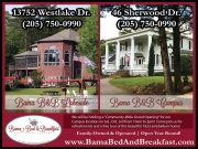 Bama Bed & Breakfast Grand Opening