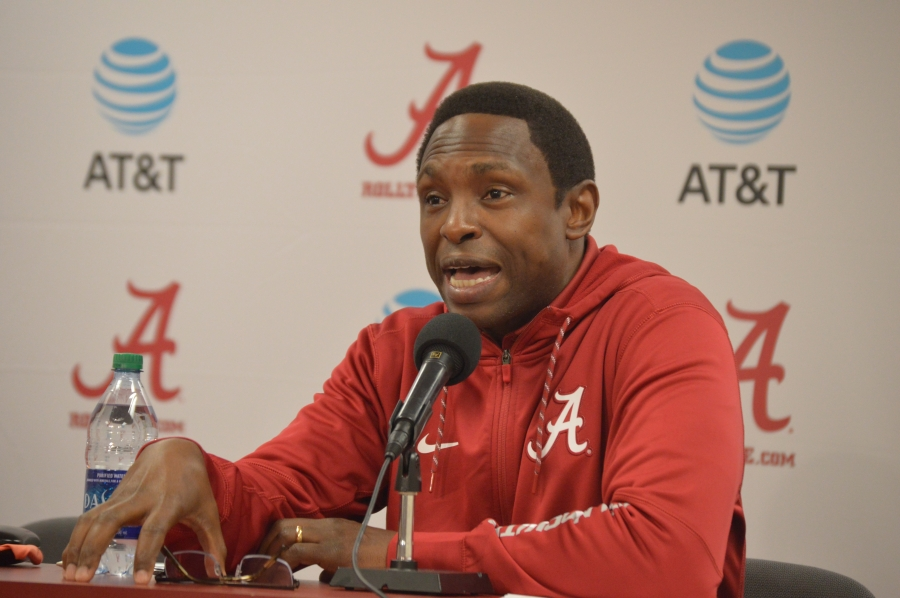 Avery Johnson discusses excitement over Tide's No. 2-ranked class of signees (via Crimson Magazine)