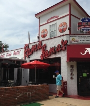 Going to Tuscaloosa for Game Day?  Here is where to eat!