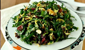 Healthy options: Chopped Kale Salad
