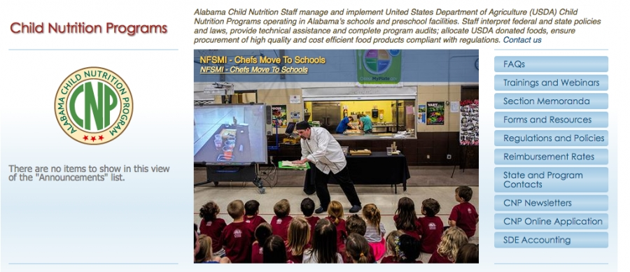 ALSDE Child Nutrition Program Partners with USDA, Institute of Child Nutrition, to host Team Up for School Nutrition Success Workshop